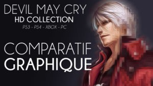 Devil May Cry HD : Comparatif Graphique